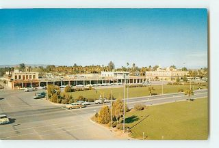 6441 Chandler Arizona AZ The Five Star City Cars Buildings c1950 60s