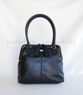 LUXE NEW Kate Spade Biscayne Bay Ashlyn Black Tote Business Case