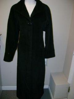 Jones NY Full Length Single Breasted Alpaca Coat 10