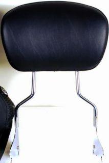 Harley Davidson Road King Seat w/SissyBar Passenger Seat Back Rest