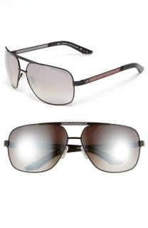 Armani Exchange AX 255 s Alt NQ Black Red Brown Mirror Sunglasses