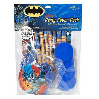 BATMAN HEROES VILLIANS PARTY FAVOR VALUE PACK 16 TREAT BAGS 80 ASST