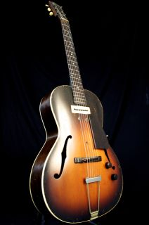 Vintage 1938 Gibson ES 100 Archtop Electric Guitar Charlie Christian