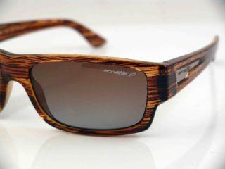 Arnette Polarized Wager Sunglasses Havana Brown Grd New