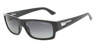 Arnette Wager Sunglasses AN4144 Gloss Black Polarized