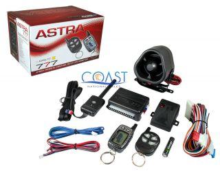 SCYTEK ASTRA 777 2 WAY KEYLESS ENTRY CAR ALARM SYSTEM W 2 WAY PAGING W