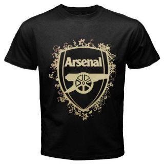 Arsenal Football Club Mens Black T Shirt s 5XL