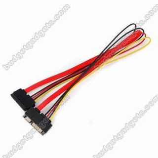 15 Pin Female to Male SATA Serial ATA Power Cable Cord
