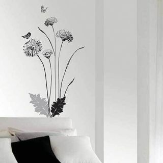SS 58228 Decor Flower Art Wall Paper Sticker Decals BRINGBRINGSHOP