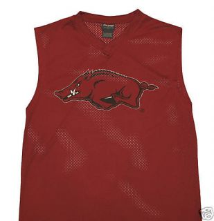 Arkansas Razorbacks Sleeveless NCAA New Football Jersey