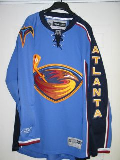 ATLANTA THRASHERS JERSEY BY REEBOK LARGE NHL NEW W TAGS WINNIPEG JETS