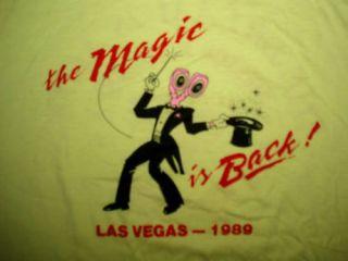 Arthur L Williams The Magic Is Back Shirt Vintage 1980s