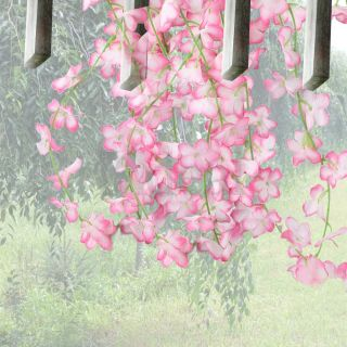 Mixed Artificial Flower Vine Ivy Garland Party Wedding Home Decoration