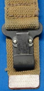 WW2 Canadian Army Issue 9mm Browning High Power Shoulder Stock Holster
