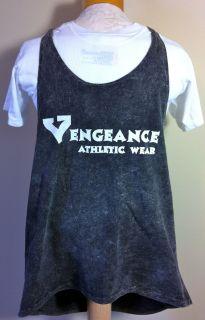 Mens Vengeance Athletic Wear Tank Razorback String Workout Gym