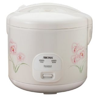 Aroma Arc 1266F 6 Cup Rice Cooker Food Steamer Non Stick Interior New