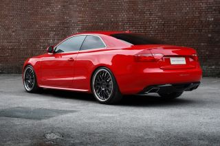 The Vossen 094 Wheel and Tire Pkg for Audi A5 and S5