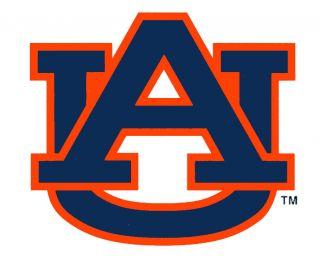 Auburn University Large Logo Cornhole Decals Set of 2