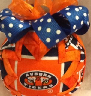 Auburn University Tigers Quilted Star Pattern Ornament Graduation Gift