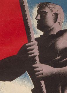 Arriba Espana 1936 Spanish Civil War Poster 24x34