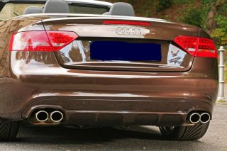Audi S5 A5 s Line JMS Rear Diffuser to Fit Quad Exhaust