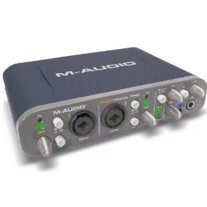Audio Fast Track Pro 4x4 Mobile USB Audio MIDI Interface with
