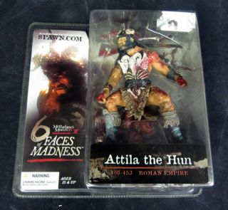 McFarlane Monsters Action Figure 6 Faces of Madness   Attila the Hun
