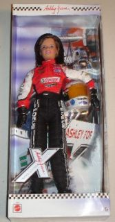 Ashley Force Hood ~ Castrol Barbie Doll ~ 2005 ~ NHRA ~ John Force