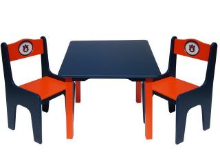 Auburn University Tigers Kids Table and Chairs Set