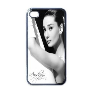 Audrey Hepburn iPhone 4 Hard Plastic Case Cover