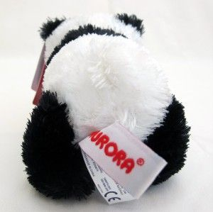 aurora plush panda bear mini flopsie stuffed animal toy new
