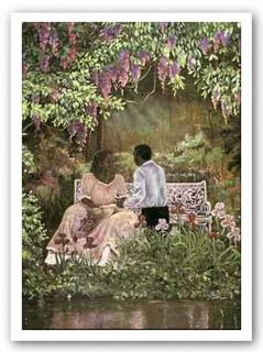 African American Art The Proposal by Consuelo Gamboa