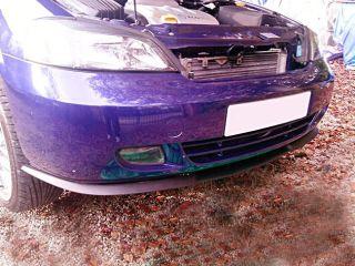 Vauxhall Opel Astra G MK4 4 Front Bumper Cup Chin Spoiler Lip Splitter