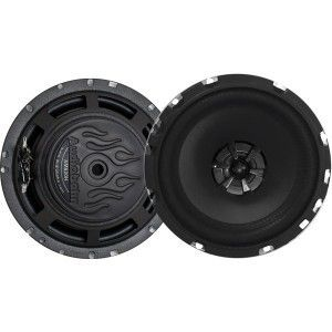 Audiobahn AMS620H 6 5 2way 180W Murdered Out Series Speaker