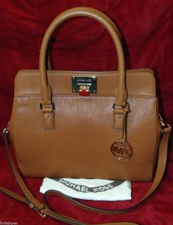 Michael Kors ASTRID Large Satchel LUGGAGE Genuine Leather NWT