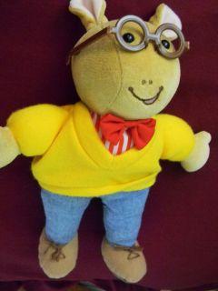 ARTHUR cartoon character 10 tall Eden Machine washable Arthur doll