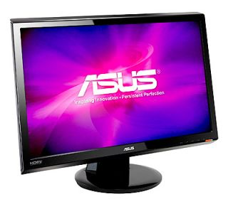 ASUS VH242H The Full HD 1080p LCD Monitor Impresses Your Eyes