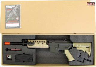 JG M4 s System 6613 Auto Electric Airsoft Soft Air Rifle Gun AEG Tan