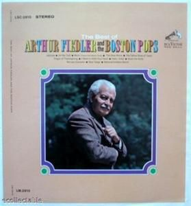 Best of Arthur Fiedler Boston Pops Printers Proof 1965