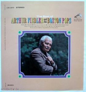 Best of Arthur Fiedler Boston Pops Printers Proof 1965