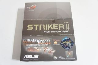 Asus Striker II NSE Socket 775 NVIDIA nForce 790i Ultra SLI