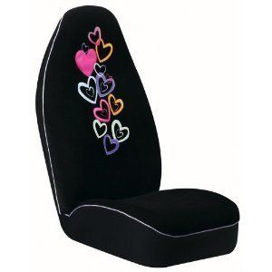 Auto Expressions $60 Car Truck Bucket Seat Covers Candy Heart 2 PC