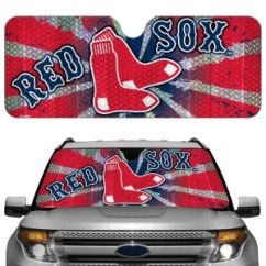 auto sun shade description boston red sox mlb car windshield auto sun
