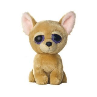 Aurora World Plush Dreamy Eyes CUTIE the Chihuahua Dog 6 inch Stuffed