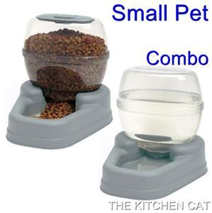 Automatic Dog Waterer Feeder New Auto Pet Cat Dish Bowl