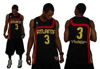 Shareef Abdur Rahim Atlanta Hawks Retro Throwback Nike NBA Swingman