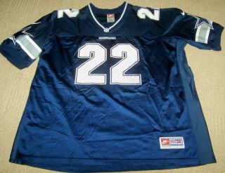 Emmitt Smith Dallas Cowboys Authentic Nike NFL Jersey Size XXL