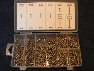 Interior Exterior Stainless Steel Screw Kit Restoration Auto Truck RV