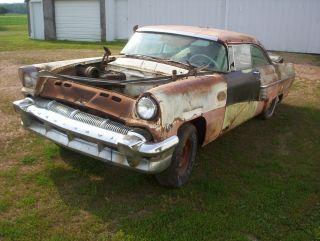 1956 Ford Mercury Monterey 2 Door Hardtop Project Parts Car