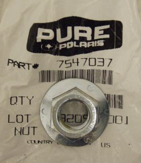 Polaris New ATV Hub Nut Rear Wheel Scrambler Trail Blazer Magnum 400